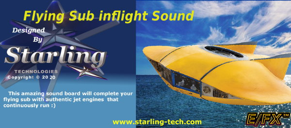 flying-sub engine Sound.