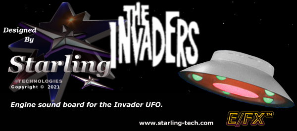 The Invaders UFP engine Sound.